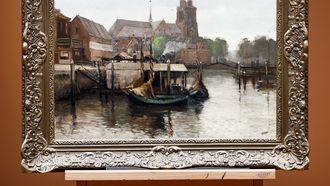 Man vindt schilderij ter waarde van 200.000 euro