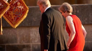 Trump waarschuwt May over Brexitplannen, / AFP
