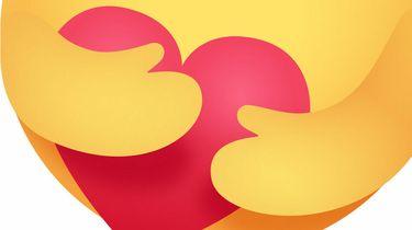 Hart onder de riem emoji