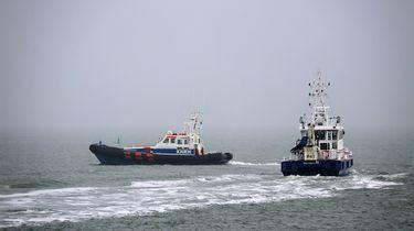 Vermist bemanningslid niet gevonden op de Noordzee