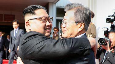 Onverwachte tweede ontmoeting Moon en Kim