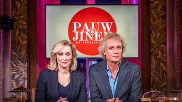 Een foto van Eva Jinek en Jeroen Pauw