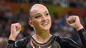 Op deze foto zie je Sanne Wever tijden de olympische spelen in in Rio de Janeiro, Brazilië