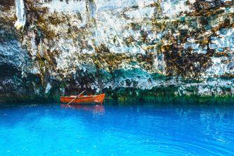Het meer van Melissani. / Colourbox