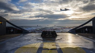 Schip met 1600 toen gasolie vastgelopen in Waddenzee