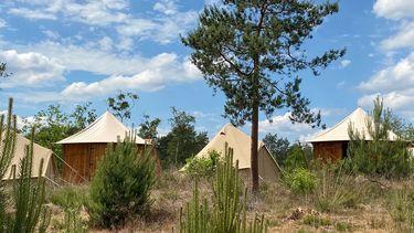 pop-up camping vakantie