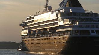 Passagiers cruise walgen van IJmuiden: 'Leek wel sociale woningbouw'