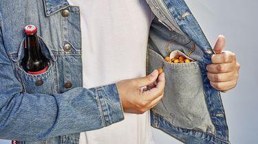Pilsjas: mét koelvak, opener en zak voor je borrelnoten