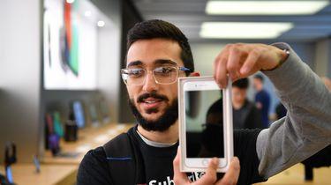 Student 11 dagen in de rij voor nieuwste iPhone