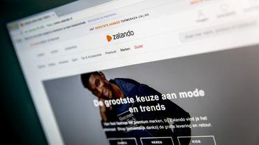 Logo en website van Zalando.