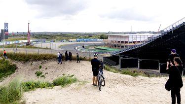 Formule 1 Zandvoort fietsers fiets