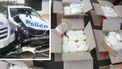 Drugskoerier botst op politiewagens: 'Eén van de makkelijkste drugsvangsten ooit'