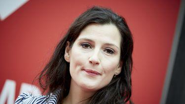 Een foto van actrice Tina de Bruin