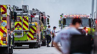 Brandweerman Miami haalt overleden dochtertje (7 jaar) onder puin vandaan