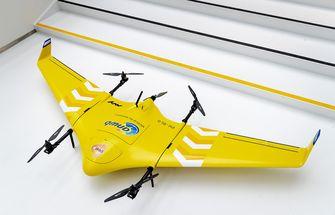 In Nederland wordt de drone binnenkort ingezet voor vervoer van vloed en medicijnen.