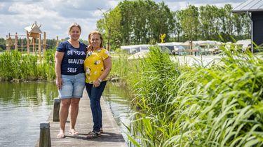 Ook Almeerders op de camping van Almere