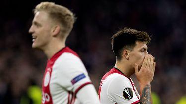 Ajax ondanks winst toch uitgeschakeld in Europa