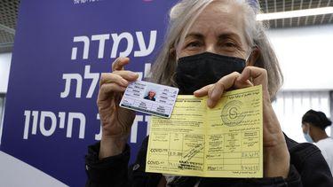 Israël vaccinatiepas
