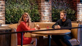 Een foto van Jim Bakkum met Melissa Drost met wie hij in Casanova's datet