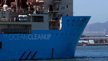 Ocean Cleanup: verbeterde plasticvanger werkt