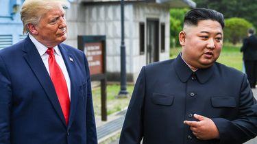 Trump ontvangt 'heel mooie' brief van Kim Jong-un