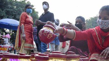 Minder coronadoden in India