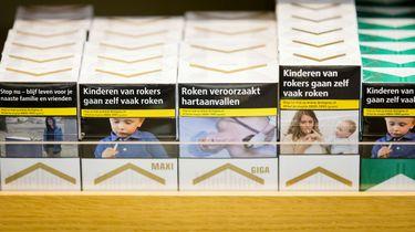 Sigaretten straks alleen nog in saai pakje