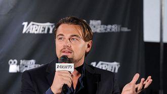 Een foto van Leonardo DiCaprio, wiens Wolf of Wall Street van Netflix verdwijnt
