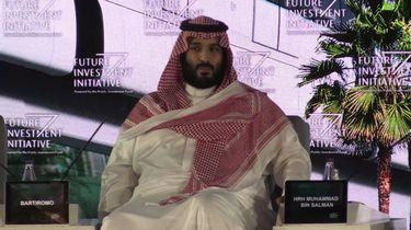 Kroonprins Mohammad bin Salman al-Saoed. Foto: videostill AFP