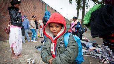Asielzoekers krijgen 12,95 euro per week voor kleding en andere persoonlijke spullen. Foto: ANP