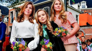 Prinsesjes droegen alle drie kleding van mama Máxima
