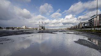 Ook langs de Schelde in Antwerpen dreigt overstroming - ANP
