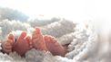 tweeling geboren tijdens comae
