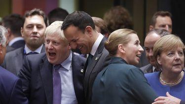 Groen licht EU-leiders voor brexitakkoord.