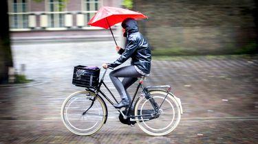 Trek je regenpak aan: maandagmiddag flinke regen