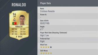 Ronaldo in FIFA 17 voor het eerst beter dan Messi