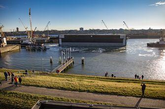 zeesluis IJmuiden Irma Sluis gebarentolk