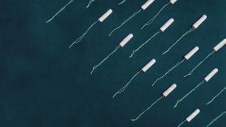Een foto van tampons.