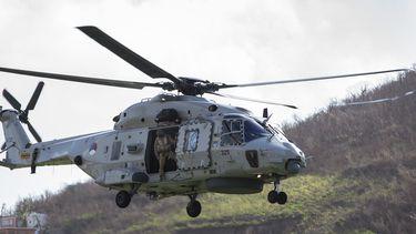 Twee doden door helikoptercrash Defensie bij Aruba