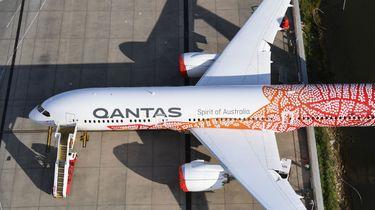 Qantas vliegtuig