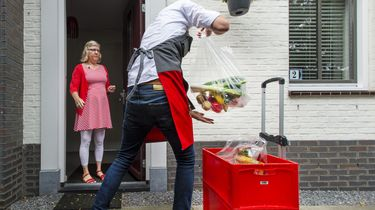 Das pech, supermarkt weg