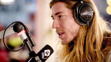 3FM dj Frank van der Lende.
