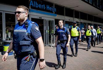 Op deze foto protesteren boa's in Den Haag