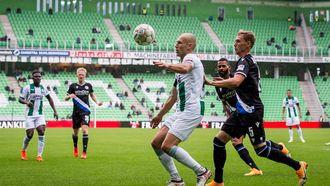 Een foto van Arjen Robben, terug in de Eredivisie