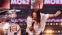 Een foto van Mell tijdens een optreden in We Want More