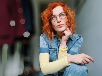 Een portretfoto van Rosan van Happy Depressie