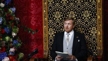 Koning tijdens Troonrede: 'Niet bezuinigen, maar investeren'