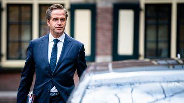 Een foto van minister Hugo de Jonge