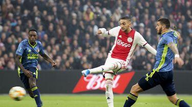 Ziyech verruilt Ajax voor Chelsea