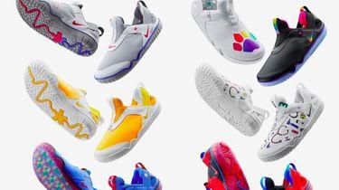 Verschillende designs van de gloednieuwe Nike Air Zoom Pulse./ Twitter @the_fashionball